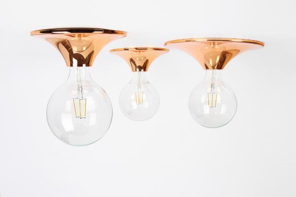 Lampa DOT copper / gold