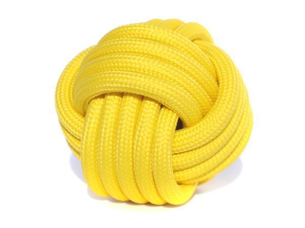 kabel w oplocie żółty
