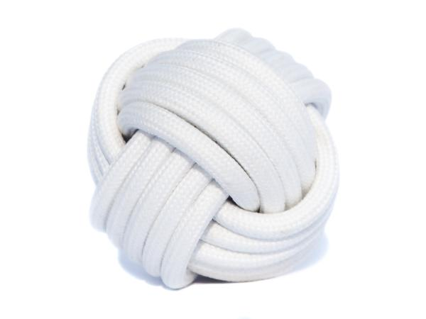 kabel w oplocie biały