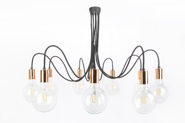 Lampa Medusa Copper / Gold / Silver
