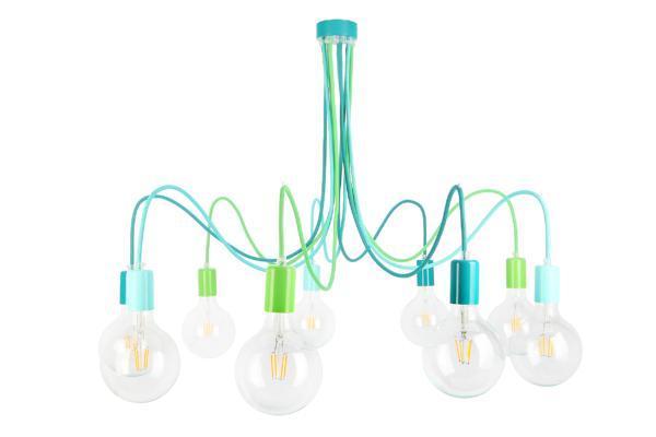Lampa Medusa kolor