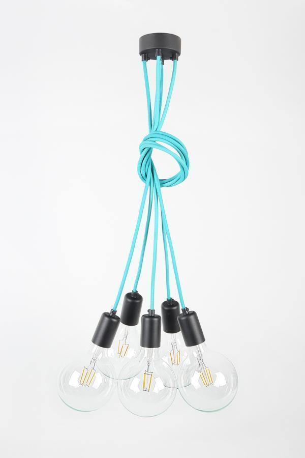 Lampa CableFIVE metalove
