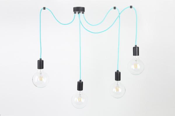 Lampa CableFOUR metalove