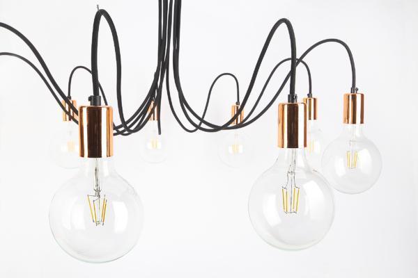 Lampa Medusa Copper / Gold / Silver