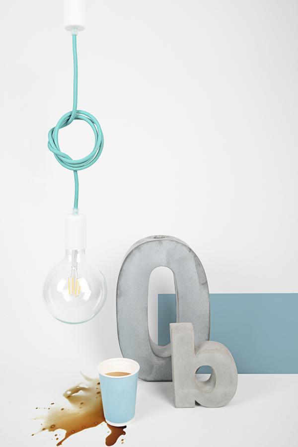Lampa CableONE metalove / WHITE