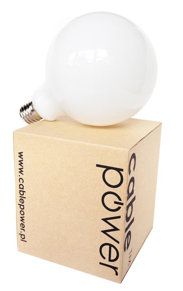Żarówka LED mleczna